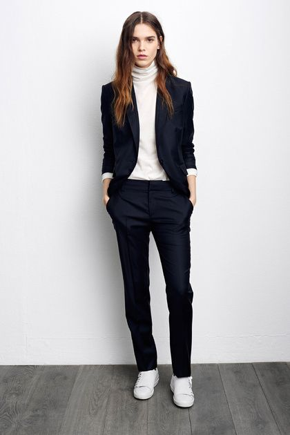 navy-blazer-white-turtleneck-navy-dress-pants-white-low-top-sneakers